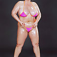 Oiled Up Muscle BBW - image